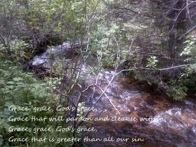 God's grace stream in CO