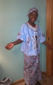 Tabby african dress2
