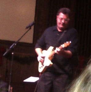 vince gill playing uncle chips guitar